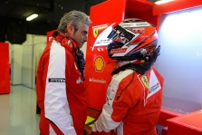 """Ferrari"": anksti kalbėti apie K. Raikkoneno ateitį"