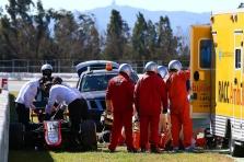 """""""McLaren"""" apie F. Alonso sveikatą bei avarijos priežastis"""
