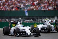"""Williams"" gretose lieka V. Bottas ir F. Massa"