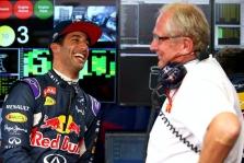 H. Marko: mums trūksta Ricciardo juokelių
