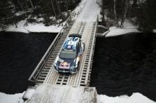 """<span style=""""background:#000000; color:white; padding: 0 2px"""">WRC</span> S. Ogier sėkmingai pirmauja Švedijos ralyje"""