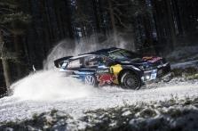 """<span style=""""background:#000000; color:white; padding: 0 2px"""">WRC</span> Švedijos ralyje - antroji iš eilės S. Ogier pergalė"""