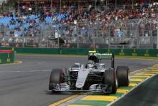 Permainingose lenktynėse Australijoje pergalę iškovojo N. Rosbergas