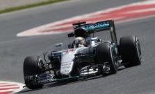 Ispanijos GP kvalifikacijoje triumfavo L. Hamiltonas