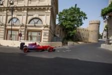 G. Abdullayevas pirmasis išbandė Baku trasą