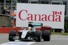 Kanados GP lenktynėse nugalėjo L. Hamiltonas