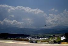 Austrijos GP: penktadienio treniruotė Nr.1