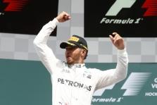 Meksikoje antrąją pergalę iš eilės iškovojo L. Hamiltonas