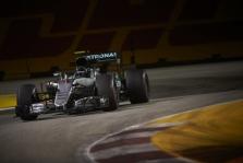 Singapūro GP: šeštadienio treniruotės