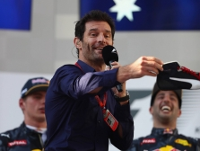 """M. Webberis: """"Red Bull"""" D. Ricciardo atskleidė visas savo kortas"""