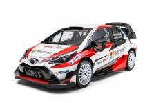 "<span style=""background:#000000; color:white; padding: 0 2px"">WRC</span> ""Toyota"" pristatė ""Yaris WRC"" automobilį"