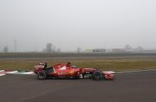 """A. Giovinazzi pirmą kartą išbandė """"Ferrari"""" bolidą"""