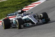Trečiąją bandymų dieną geriausią rezultatą užfiksavo V. Bottas