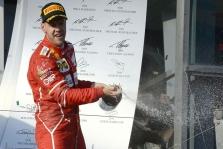 S. Vettelis: trasoje pasirodęs saugos automobilis sutrukdė kovoti dėl pergalės