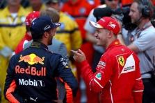 D. Ricciardo: S. Vettelis kartais nepagalvoja prieš imdamasis kokių nors veiksmų