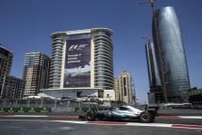Azerbaidžano GP: šeštadienio treniruotės