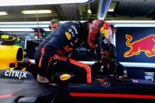 Verstappenas ir Magnussenas gavo baudos balus