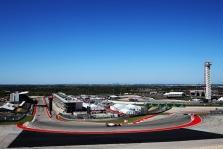 JAV GP: penktadienio treniruotė Nr.1