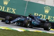 """Brazilijoje """"pole"""" poziciją iškovojo V. Bottas"""