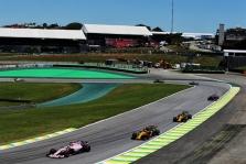 Brazilijos GP: penktadienio treniruotė Nr.1