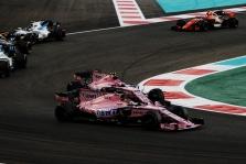 "Sezono rezultatai: ""Sahara Force India"""