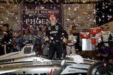 "<span style=""background:#3f3f3f; color:white; padding: 0 2px"">IndyCar</span> Lenktynės Finikse baigėsi J. Newgardeno pergale"