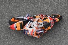 """MotoGP. M. Marquezas greičiausias Ostine, bet gali prarasti """"pole"""" poziciją"""