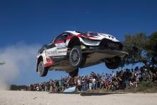 """<span style=""""background:#000000; color:white; padding: 0 2px"""">WRC</span> Argentinos ralyje - pirmoji O. Tanako pergalė"""
