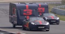 D. Ricciardo ir M. Verstappeno linksmybės: niokojo namelius ant ratų (VIDEO)