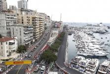 Monako GP: ketvirtadienio treniruotė Nr.1