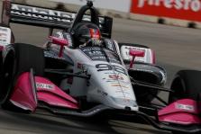 "<span style=""background:#3f3f3f; color:white; padding: 0 2px"">IndyCar</span> Detroite po ilgos pertraukos ""pole"" iškovojo M. Andretti"