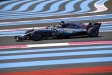 Prancūzijos GP: penktadienio treniruotė Nr.2