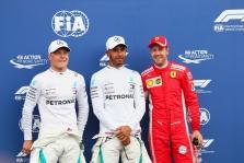 "Prancūzijoje ""pole"" poziciją iškovojo L. Hamiltonas"
