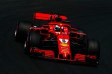 S. Vettelis: nesijautėme užtikrintai šlapioje trasoje