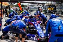 """Sezono rezultatai: """"Red Bull Toro Rosso Honda"""""""