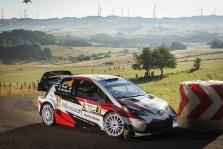 WRC. Vokietijoje pergalę iškovojo O. Tanakas