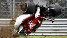 M. Ericssonas pateko į didžiulę avariją antroje penktadienio treniruotėje