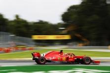 Italijos GP: šeštadienio treniruotės