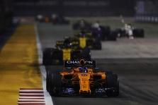 "F. Alonso: septintoji vieta - maža pergalė ""McLaren"" komandai"
