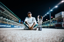 L. Hamiltons: nereiškia, kad mums sekasi, jeigu Vettelis klysta