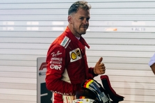 S. Vettelis: turime nugalėti visose likusiose lenktynėse