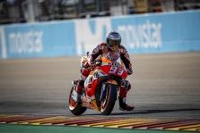 MotoGP. Lenktynės Aragone baigėsi M. Marquezo triumfu