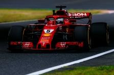 S. Vettelis: esame verti geresnio rezultato nei devinta startinė vieta