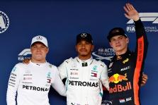 """Japonijoje vykusioje kvalifikacijoje """"pole"""" poziciją iškovojo L. Hamiltonas"""