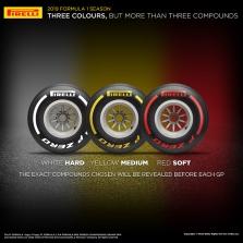 """2019 m. """"Pirelli"""" padangos bus žymimos trimis spalvomis"""