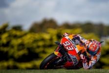 "<span style=""background:#d5002c; color:white; padding: 0 2px"">MotoGP</span> Australijoje - penktoji iš eilės M. Marquezo ""pole"""