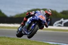 """<span style=""""background:#d5002c; color:white; padding: 0 2px"""">MotoGP</span> Australijoje - pirmoji sezone M. Vinaleso ir """"Yamaha"""" pergalė"""