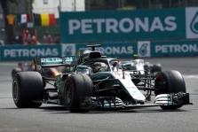 """""""Mercedes"""" Meksikoje turėjo problemų su padangomis ne dėl naujų ratlankių"""