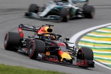 """D. Ricciardo tikisi gero pasirodymo atsisveikinimo su """"Red Bull"""" lenktynėse"""