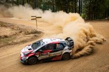 WRC. Australijos ralyje į priekį įsiveržė O. Tanakas